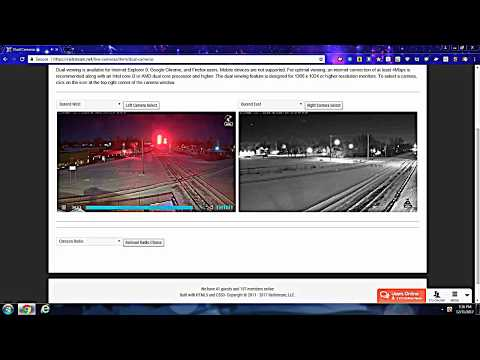 12/31/17 railfan on the railcams in Port Huron Charter Township, MI