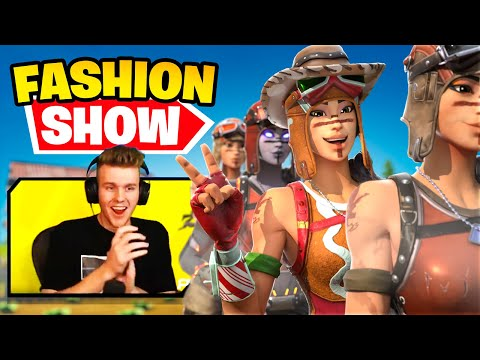 STREAM SNIPING FASHION SHOWS with EVERY OG RENEGADE RAIDER and We WON!