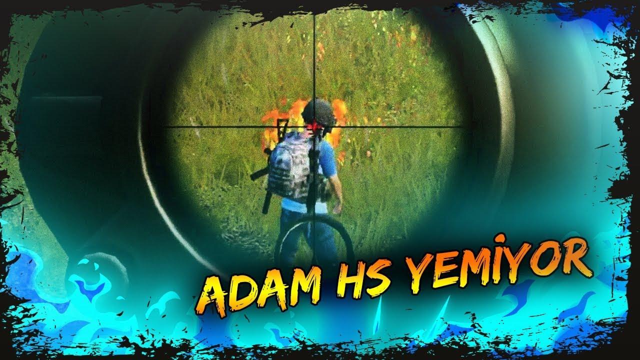 ADAM HS YEMİYOR [PUBG]
