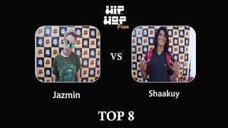 Final Internacional Hip Hop Free 2017   Jazmin vs Shaakuy   Top 8