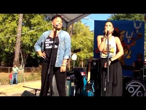 Sara Ramirez, Maya Jupiter @ Pasadena Peace & Unity Festival
