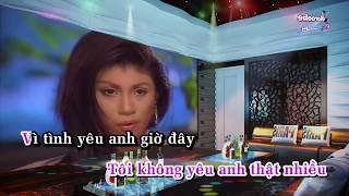 Tình Yêu Và Giọt Nước Mắt - Karaoke minhvu822    Beat chuẩn 2018 🎤
