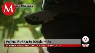 Tepalcatepec vive un infierno por amenazas del CJNG