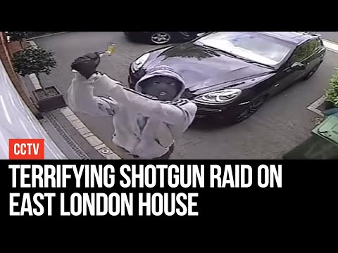 Terrifying Shotgun Raid On East London House