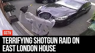 Terrifying Shotgun Raid On East London House - LBC