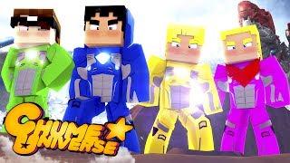 Minecraft: VIRAMOS POWER RANGERS! (Chume Universe #6)