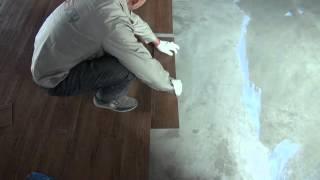 How to install wood vinyl plank flooring