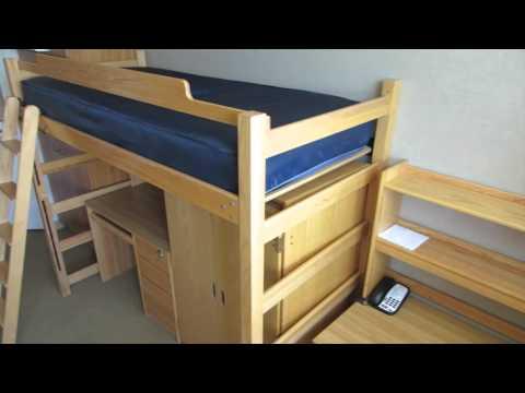 UCLA Gardenia & Holly Residential Dorm Community Tour