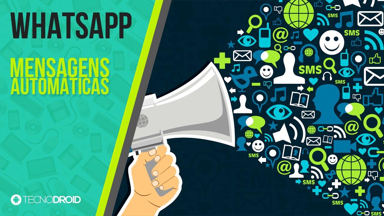 Como Mandar Mensagens De Forma Automática No Whatsapp Android