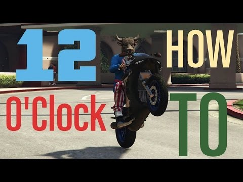 Gta 5 How To Do Longer Slower Higher Wheelies Ps4 Tips And