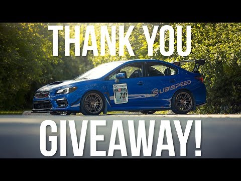 Thank you GIVEAWAY! - Subispeed