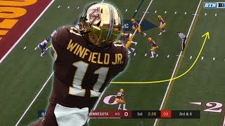 Film Study: One of the biggest STEALS of the draft might be Tampa Bay getting Antoine Winfield Jr
