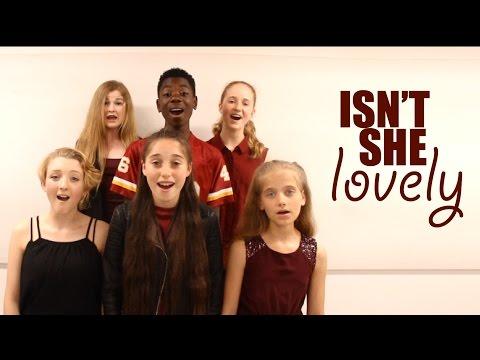 """""""Isn't She Lovely"""" (Stevie Wonder) COVER by Spirit YPC"""