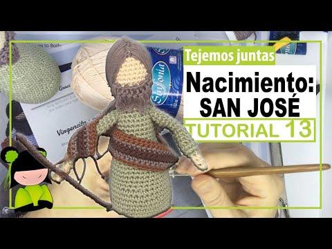 BELEN NAVIDEÑO AMIGURUMI ♥️ 13 ♥️ Nacimiento a crochet 🎅 AMIGURUMIS DE NAVIDAD!