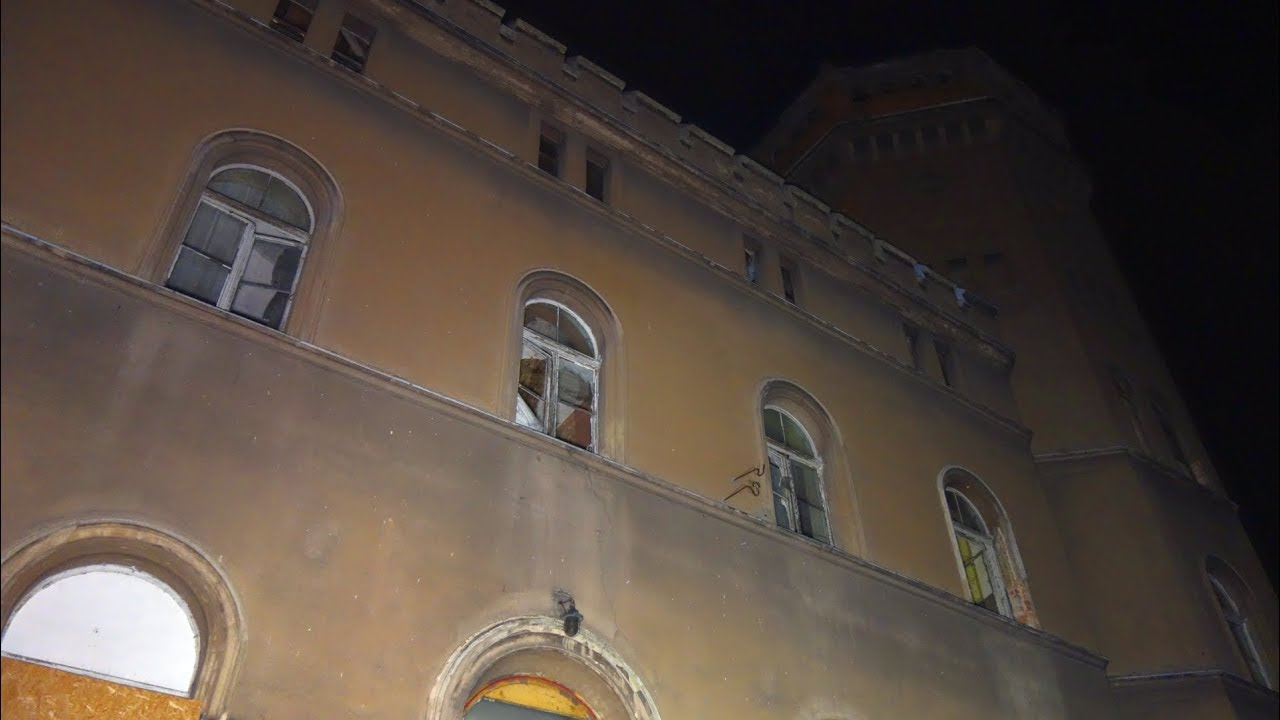 Zrujnowany Pałac Nocą |Urbex #122|