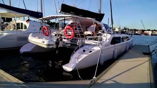 Docking a Catamaran