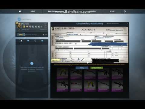 CS GO Trade up contract statrak from classified to covert