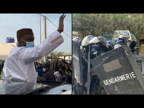 Clashes in Senegalese capital before arrest of opposition figure Ousmane Sonko | AFP