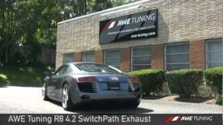 awe tuning r8 4 2 v8 switchpath exhaust