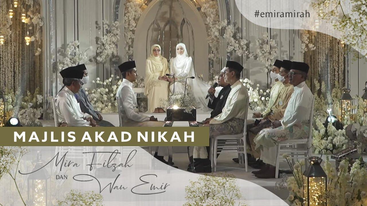 [LIVE] Majlis Akad Nikah Mira Filzah & Wan Emir