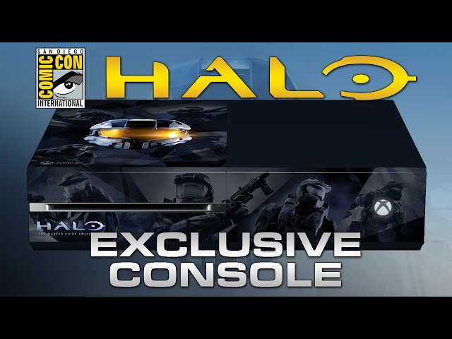 Halo Master Chief Collection Exclusive Sdcc Xbox One Console
