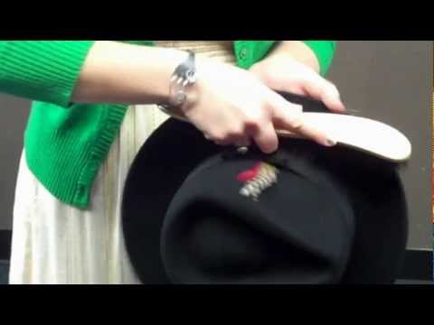 Using a Hat Brush to Clean Your Felt Hats - Village Hat Shop