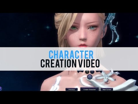 Aion Character Creation - First Look HD