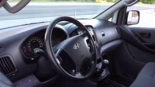 Обзор автомобиля Hyundai H-1 2010 года