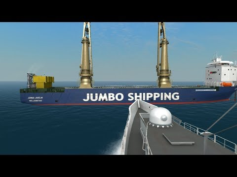 [DESTRUCTION] Cutter vs Jumbo Javelin | Ship Simulator Extre