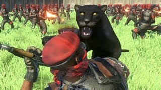 Far Cry 3 100 Panthers VS 100 Pirates  Massive Scale Battles