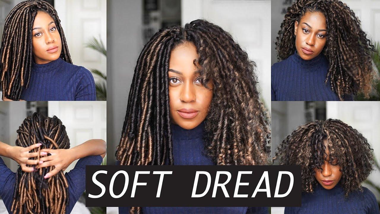 Soft Dread Crochet Braids Feat Toyokalon Youtube
