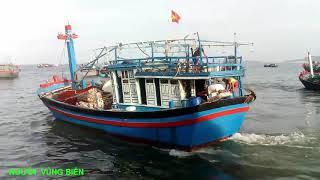 Chiều Cảng Biển Tàu Ghe Bà Con Ra Vào Tấp Nập... NGƯỜI VÙNG BIỂN