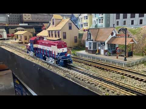MTH RailKing Scale RS-1 in Genesee & Wyoming - Gorgeous