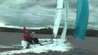 Парусная гоночная яхта