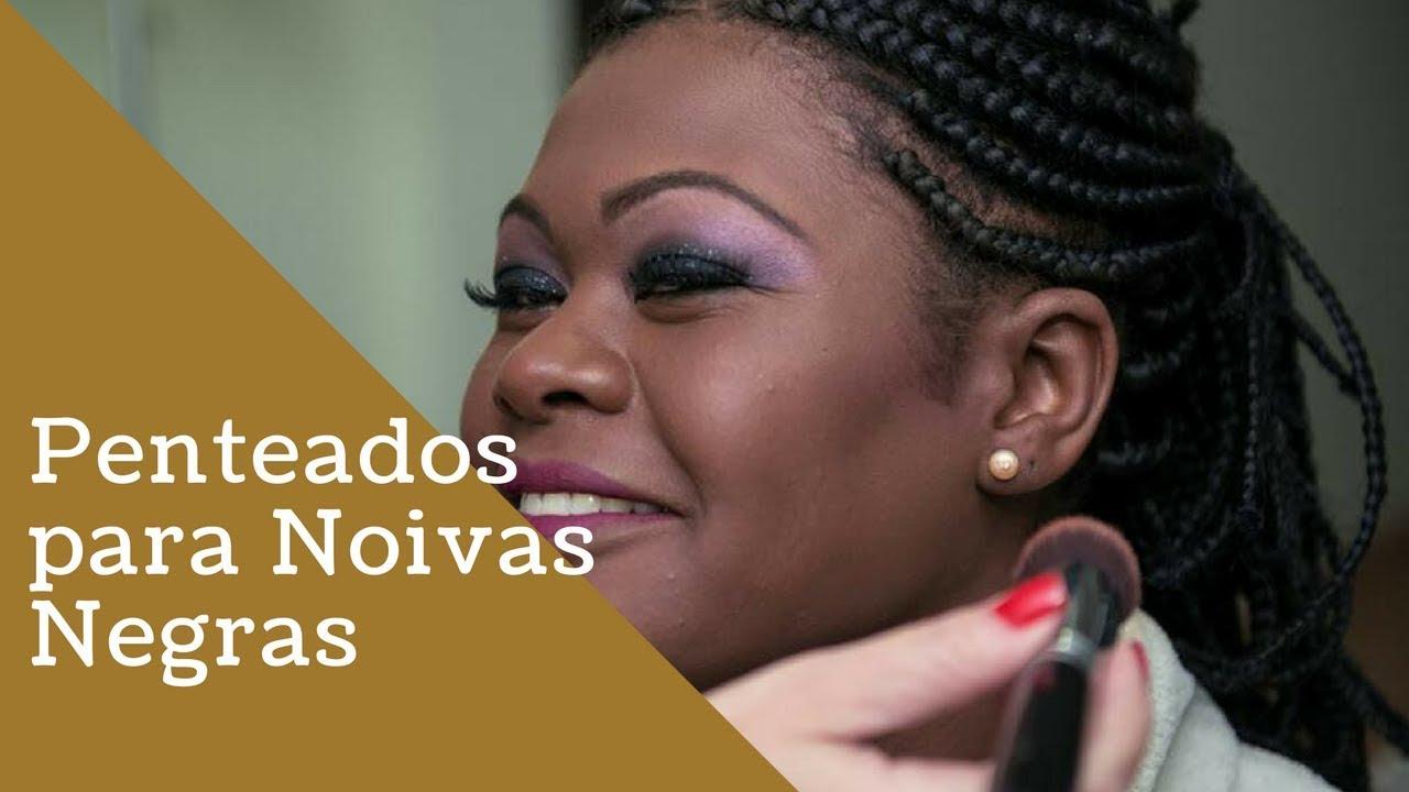 Penteado Para Noivas Negras Com Tranças Afro