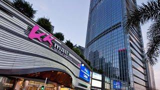 【4K】2019 Visite à Pied - KK centre Commercial du Grand Théâtre 大劇院, Shenzhen