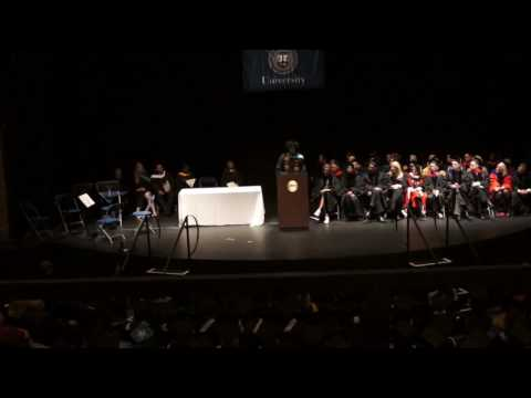 Brandeis University Heller School Graduation 2016