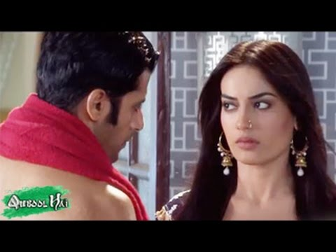Aahil & Sanam's BEDROOM ROMANCE in Qubool Hai 8th August 2014 FULL EPISODE HD