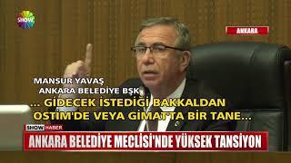 Ankara Belediye Meclisi'nde yüksek tansiyon