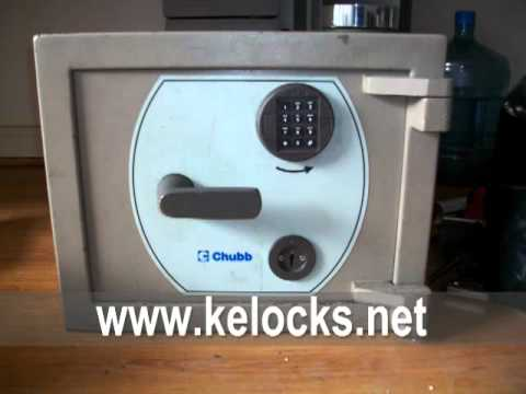 Chubb Safes that we have cracked