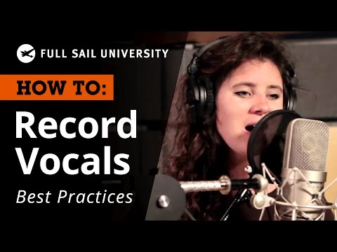 How To: Record Vocals