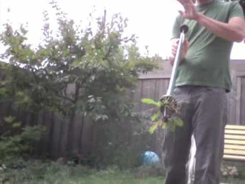Gardening Tool Demo: The Weed Hound