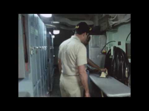 Life BELOW DECK On The Aircraft Carrier Kennedy