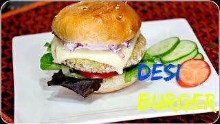 Vegetable Burger/ Veggie Burger - World's Best Burger