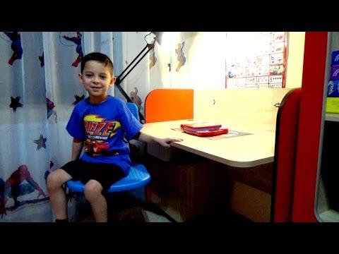 Рум тур по детской комнате Автобус для мальчика / room tour for boy with bed bus