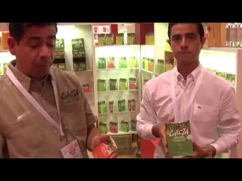 worlds first 100% organic chewing gum @ Sial Canada 2015