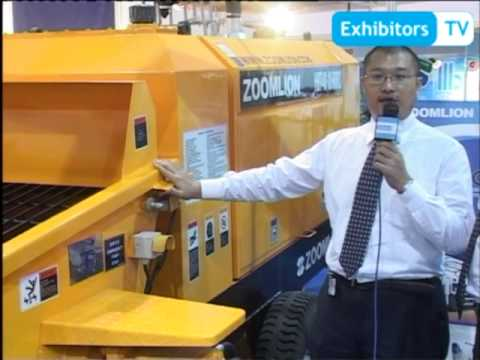 Zoomlion Heavy Industry China brings their concrete machinery to Pakistan (Exhibitors TV)