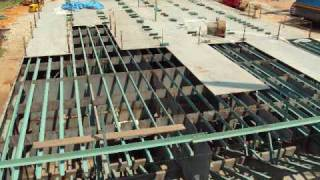 220ft Deck Barge Construction Project   Part 1