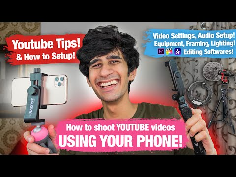 How To START A YOUTUBE CHANNEL Using YOUR PHONE! || Jake Sitlani