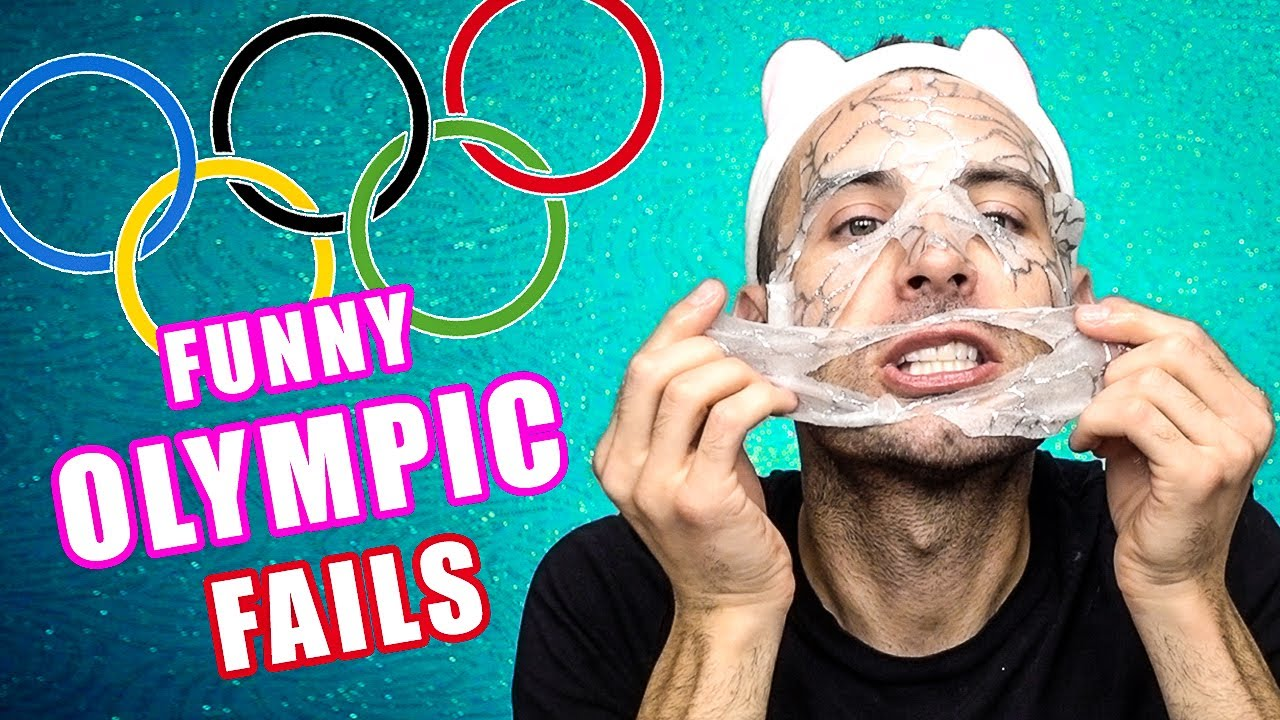 FUNNY OLYMPIC FAILS! | Mask & Movie! | Glam Glow